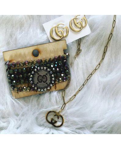 Upcylcled Designer Bracelet